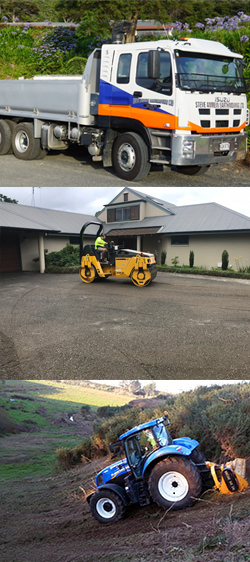earthmoving, excavation, buldozers,c tractors, ground levellers available to hire in KatiKati